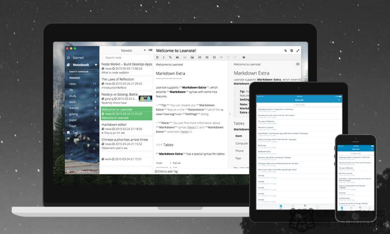 leanote开源笔记